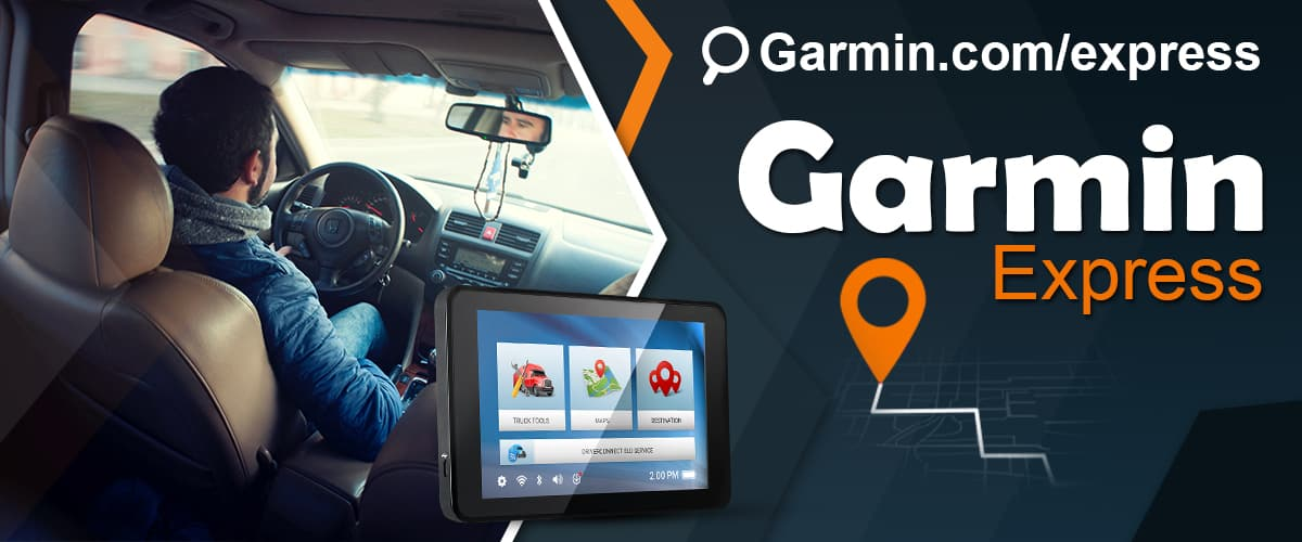 Garmin.com/express : Download & Install Garmin Express